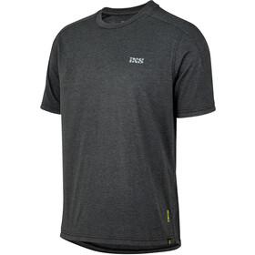 IXS Flow Tech Brand Logo SS Tee Men, negro